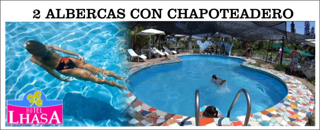 Nadar , bucear, esnórquel, sol y diversión en Hotel Lhasa Alberca