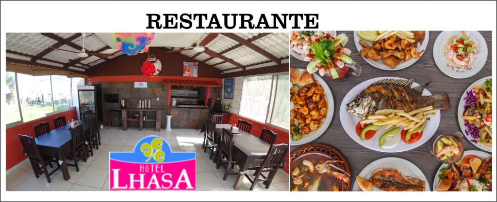 Ricos platillos, comida regional, degustación y banquetes en Hotel Lhasa Restaurante